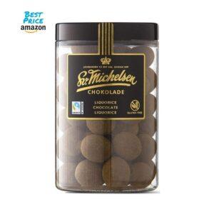 Fairtrade Chokolade mit Lakritz aus Dänemark von Sv. Michelsen 250g Packung