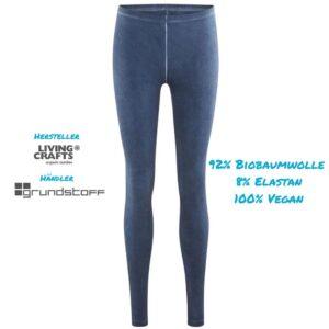 Leggings Bio & Vegan in 6 Farben kaufen von Living Crafts - klicke Hier
