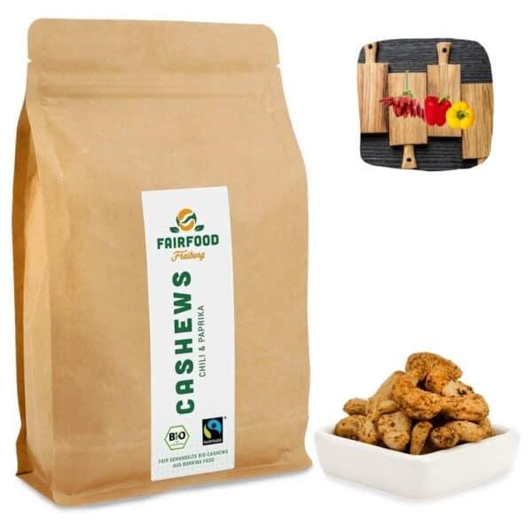 Chili & Paprika Cashew Kerne Feuertänzer von Fairfood